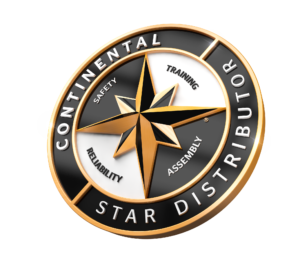 Logo of Continental Star Distributor.